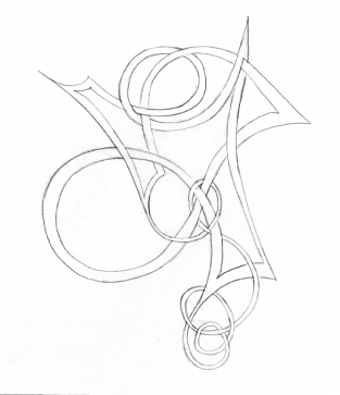 Free-form Knot 4