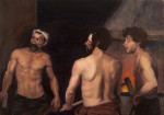 After Velasquez' Forge of Vulcan